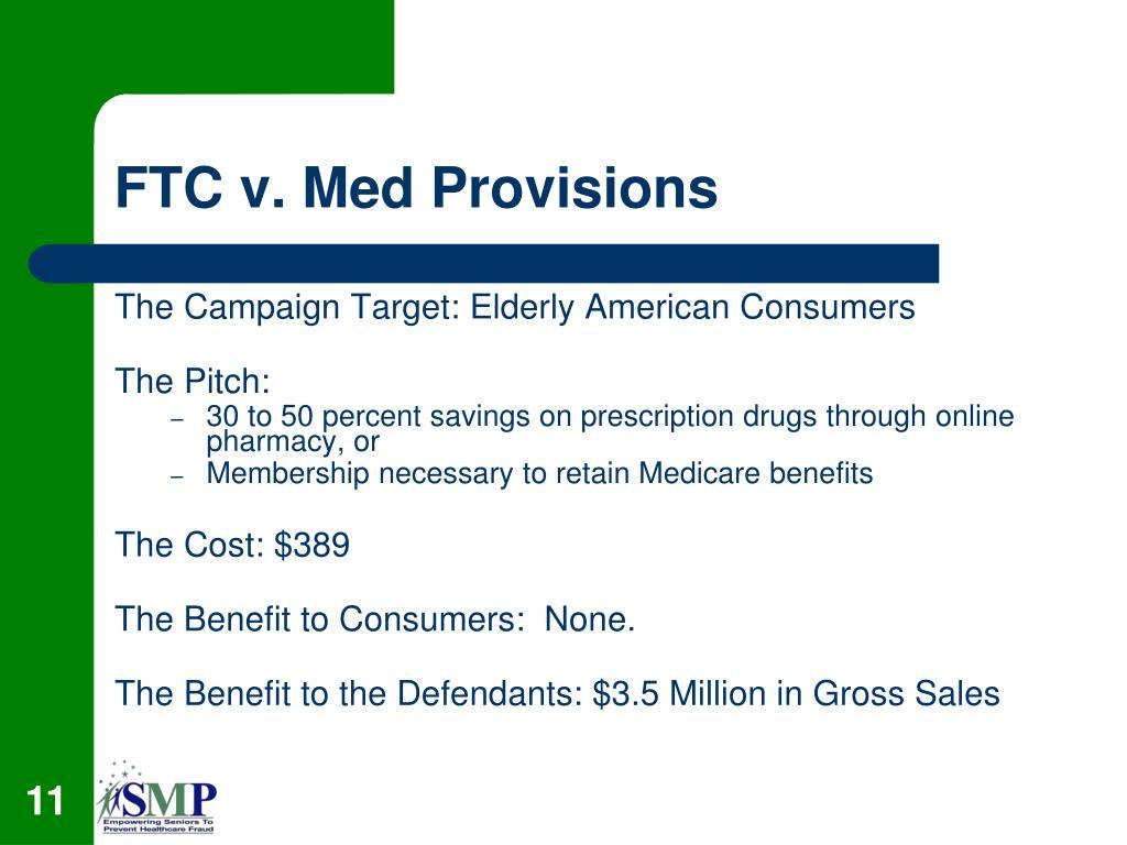 FTC v. Med Provisions