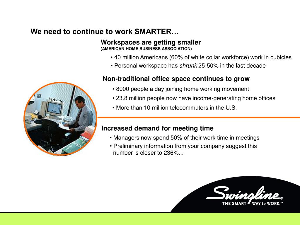 We need to continue to work SMARTER…