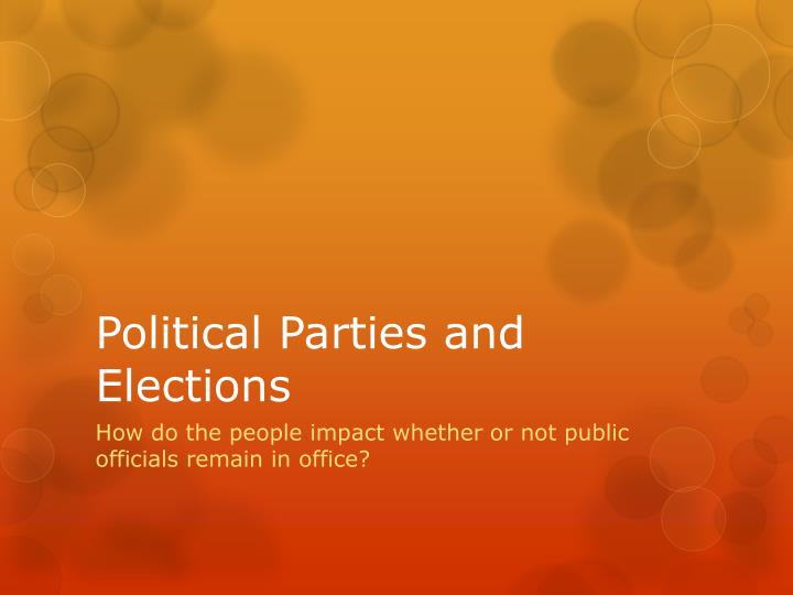 nota elections and political parties