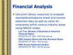 financial analysis46