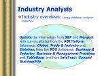 industry analysis16