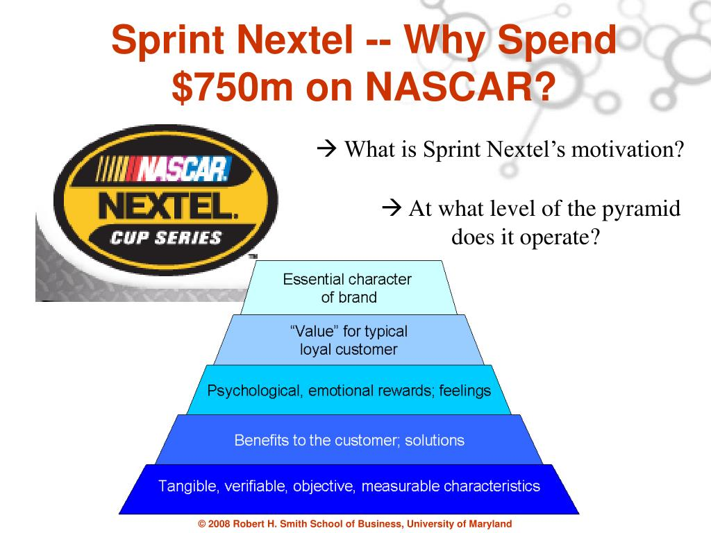 Sprint Nextel -- Why Spend $750m on NASCAR?