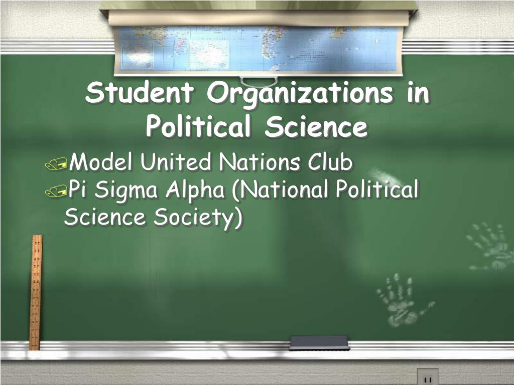 Student Organizations in Political Science