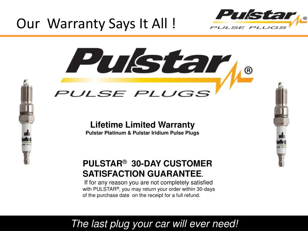 Our  Warranty Says It All !