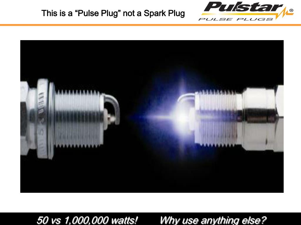 "This is a ""Pulse Plug"" not a Spark Plug"