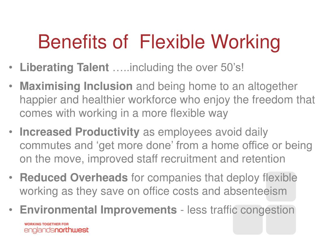 Benefits of  Flexible Working