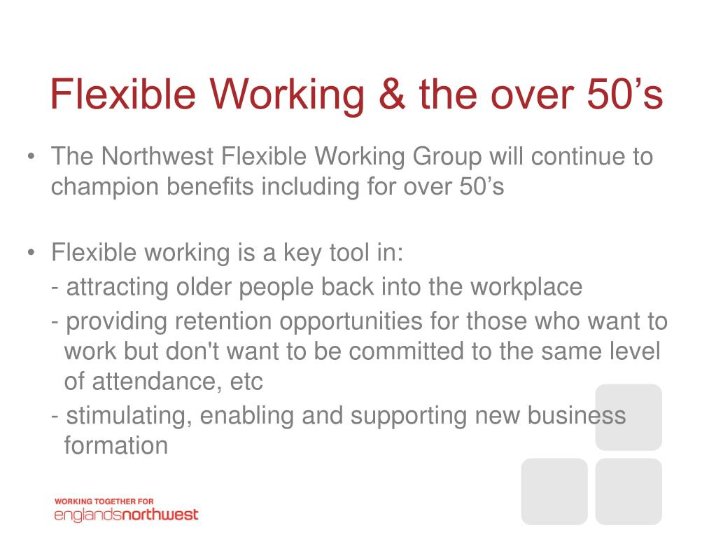 Flexible Working & the over 50's