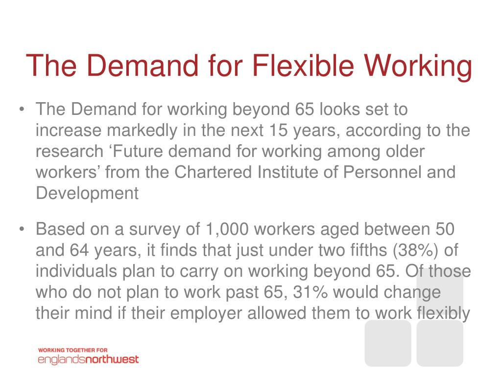 The Demand for Flexible Working