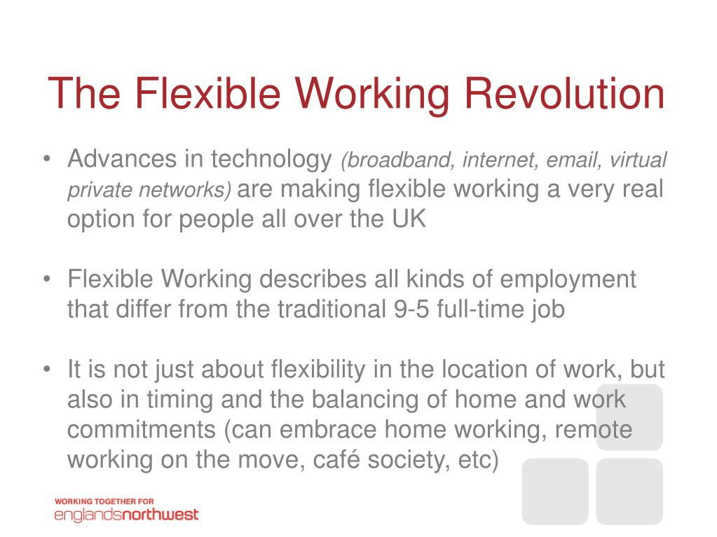 The Flexible Working Revolution