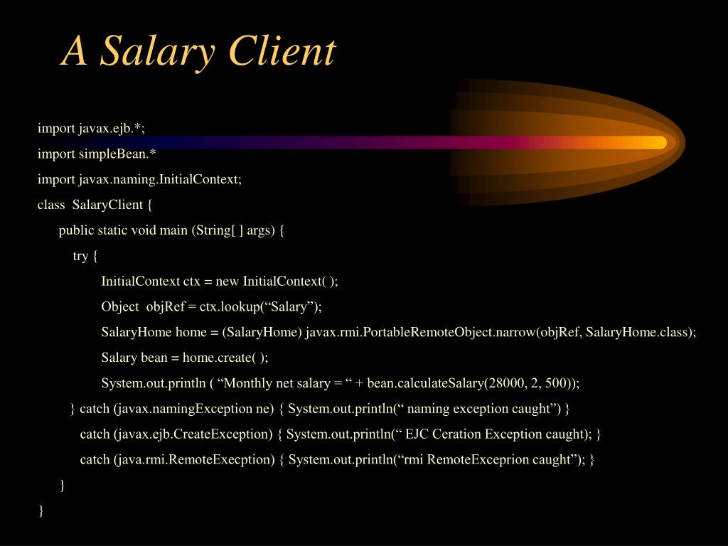 A Salary Client