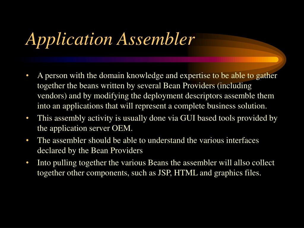 Application Assembler
