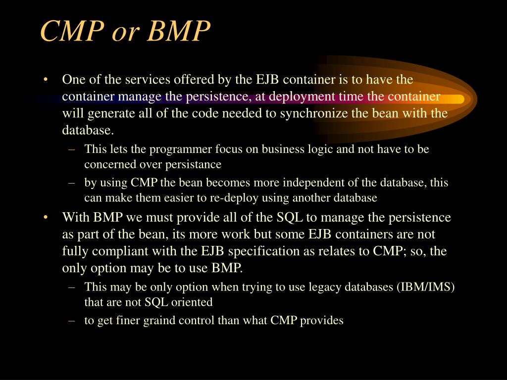 CMP or BMP