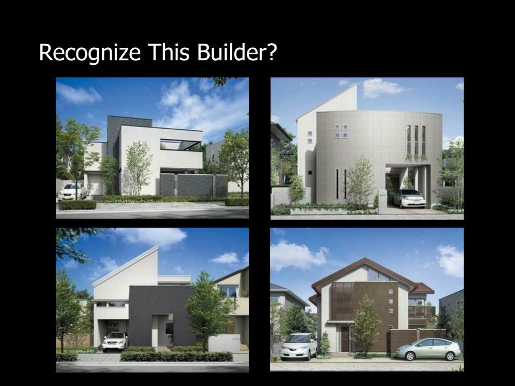 Recognize This Builder?