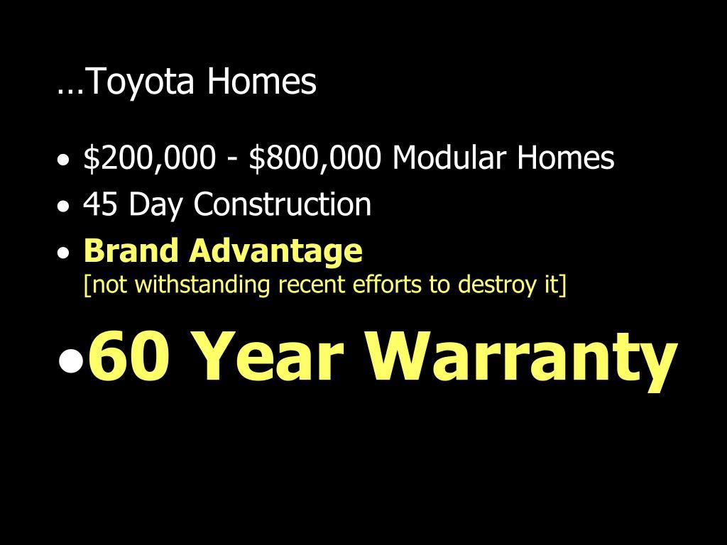 …Toyota Homes