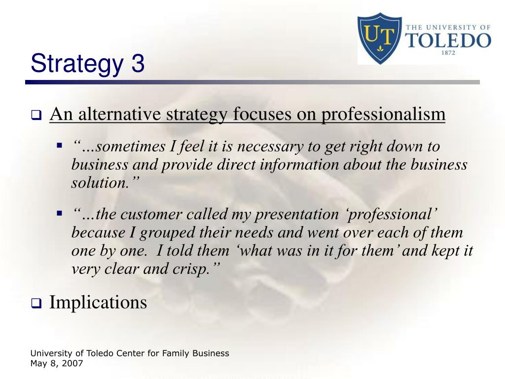 Strategy 3