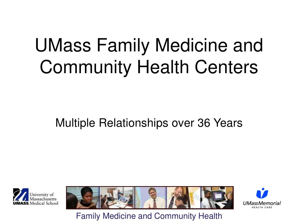 UMass Family Medicine and Community Health Centers