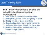 lean thinking tools16