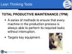 lean thinking tools19