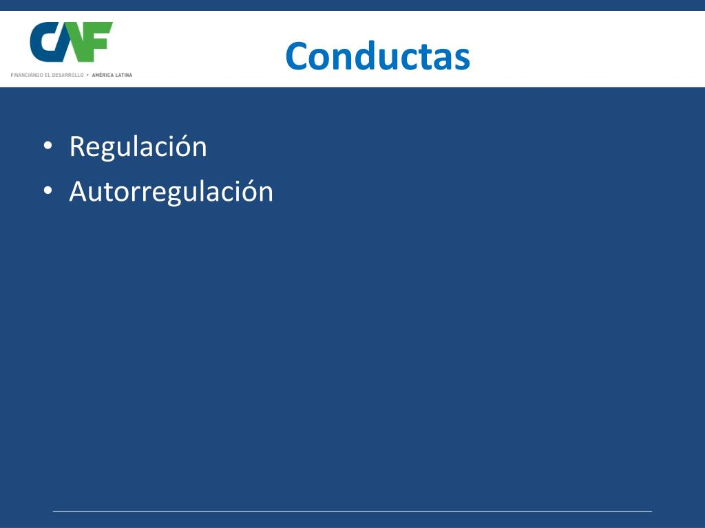 Conductas