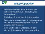 riesgo operativo