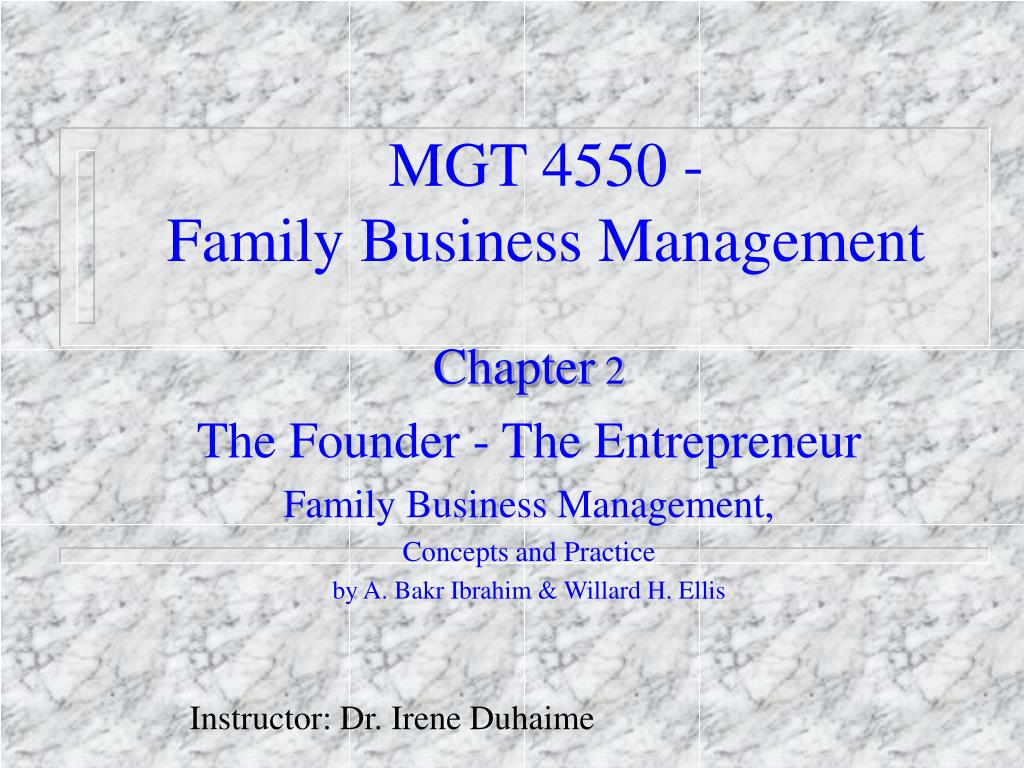 MGT 4550 -