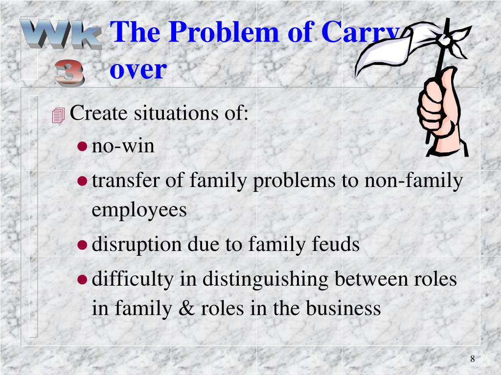 The Problem of Carry-over