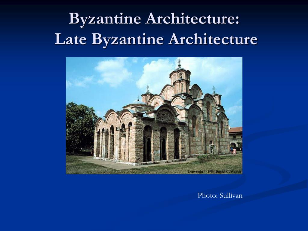 Ppt early christian and byzantine architecture for Architecture byzantine