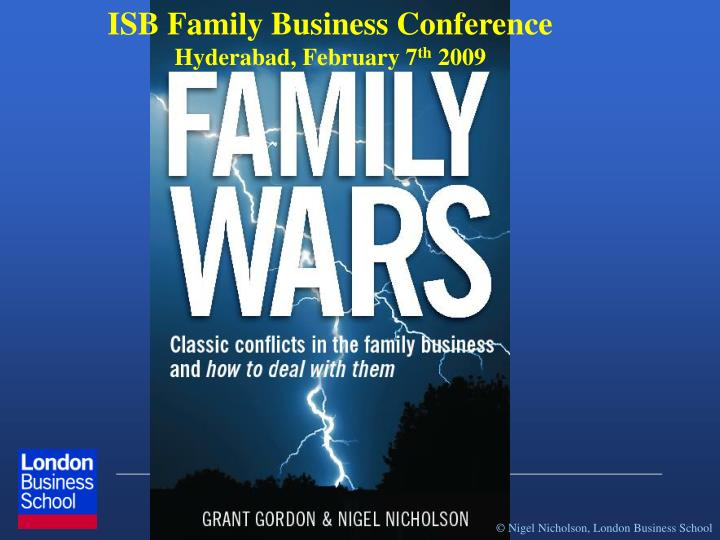 ISB Family Business Conference