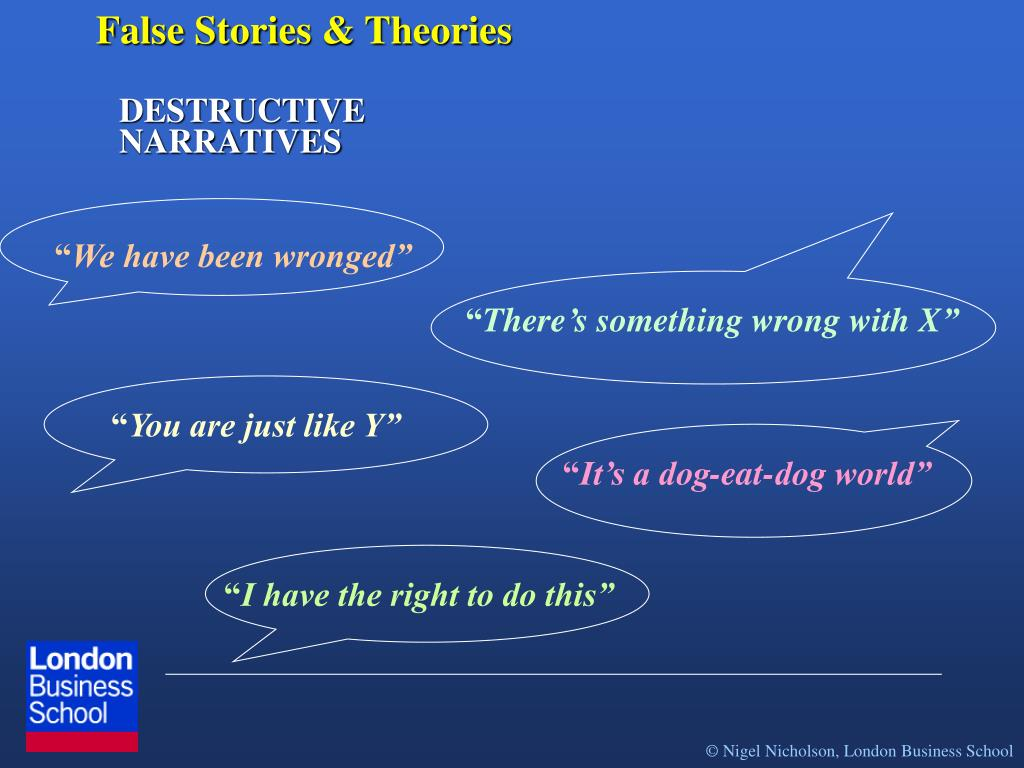 False Stories & Theories