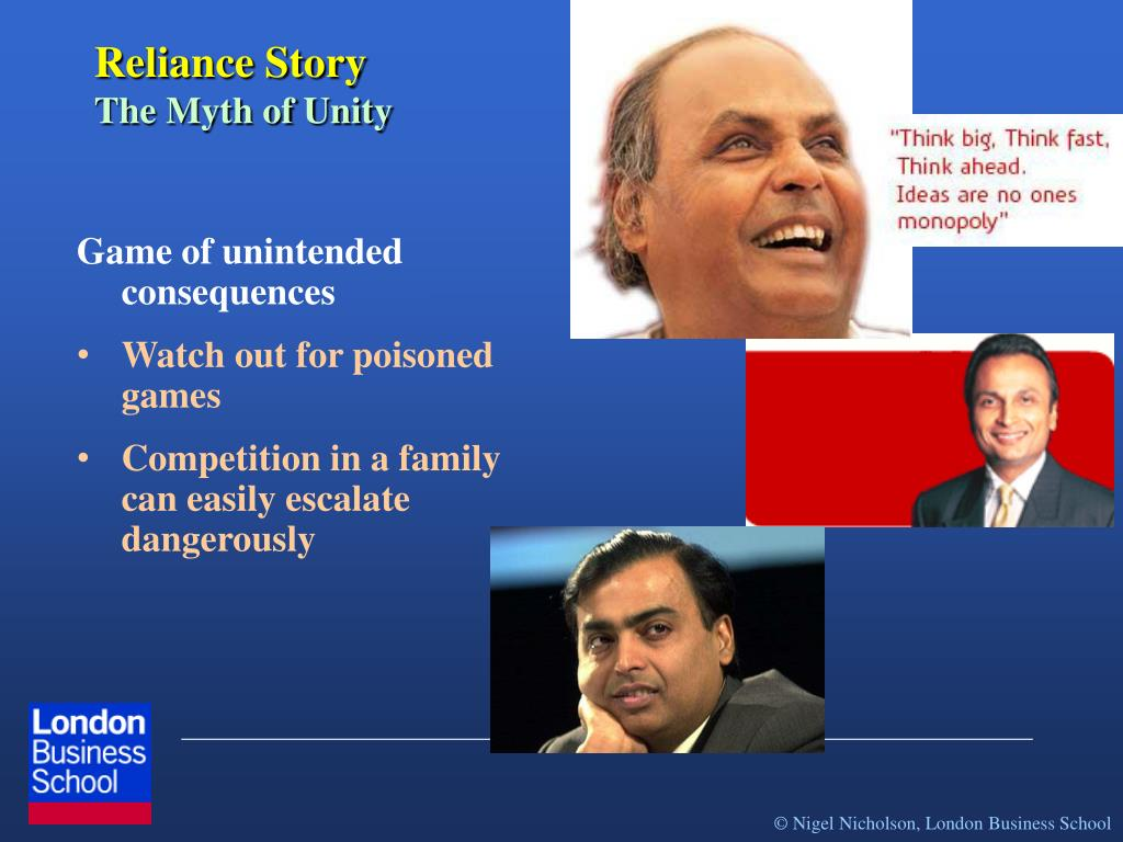 Reliance Story