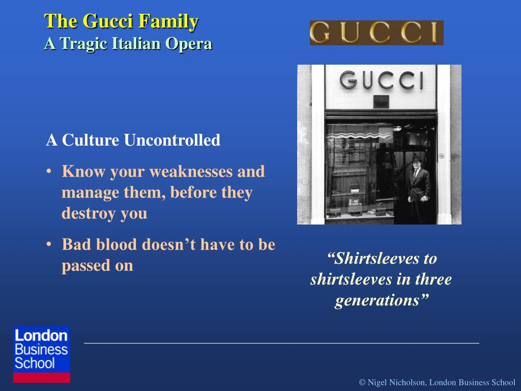 The Gucci Family