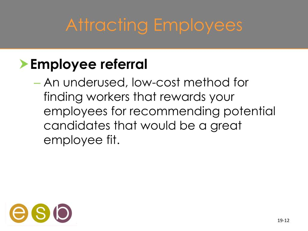Attracting Employees