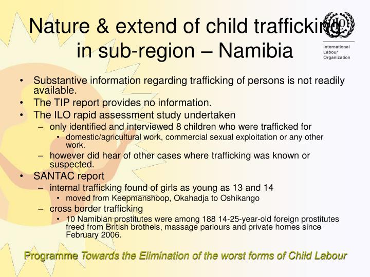 Substantive information regarding trafficking of persons is not readily available.