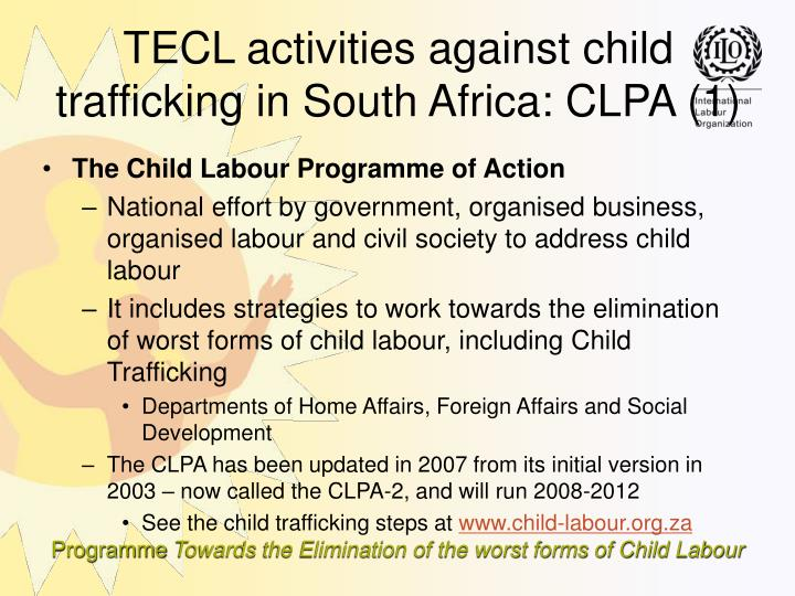 The Child Labour Programme of Action