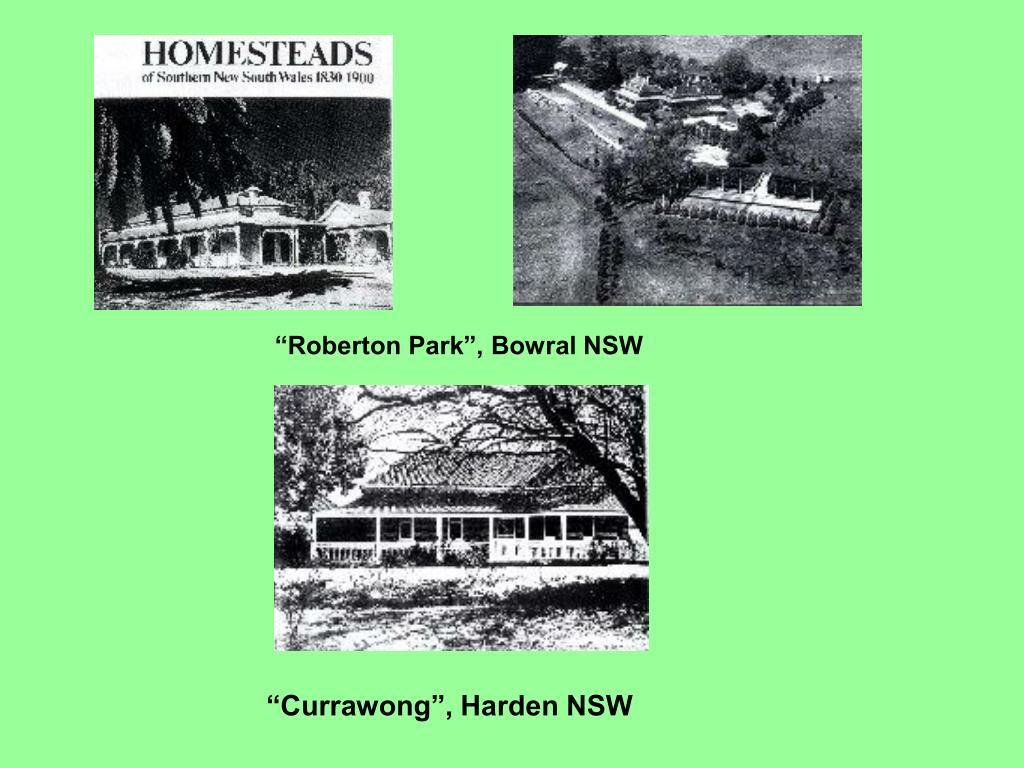 """Roberton Park"", Bowral NSW"