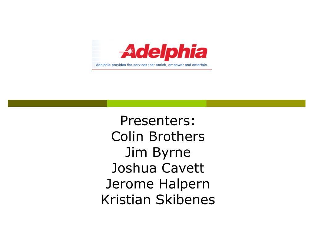 Presenters: