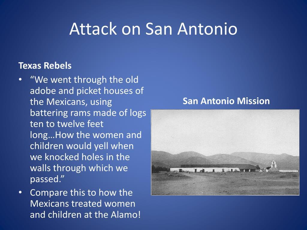 Attack on San Antonio