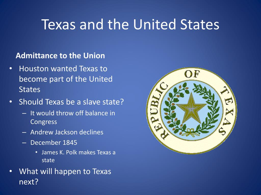Texas and the United States