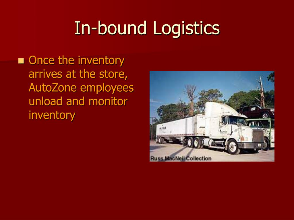 In-bound Logistics