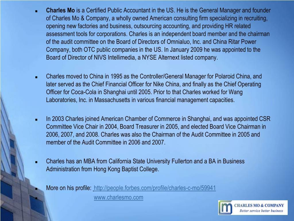 Charles Mo