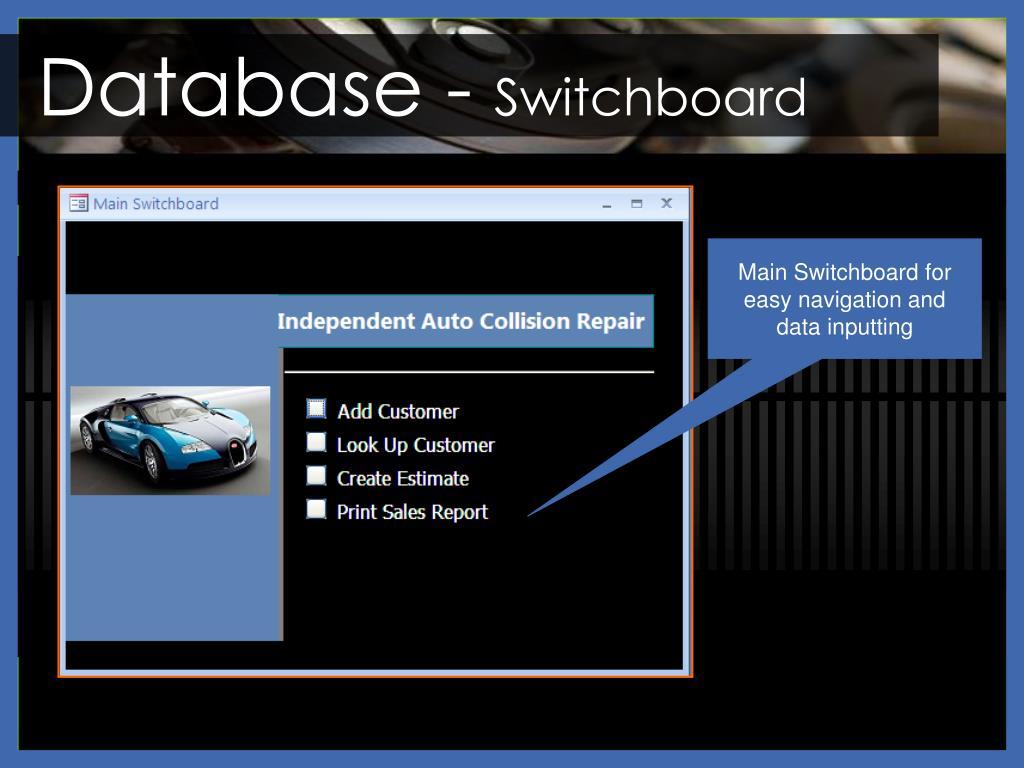 Database -