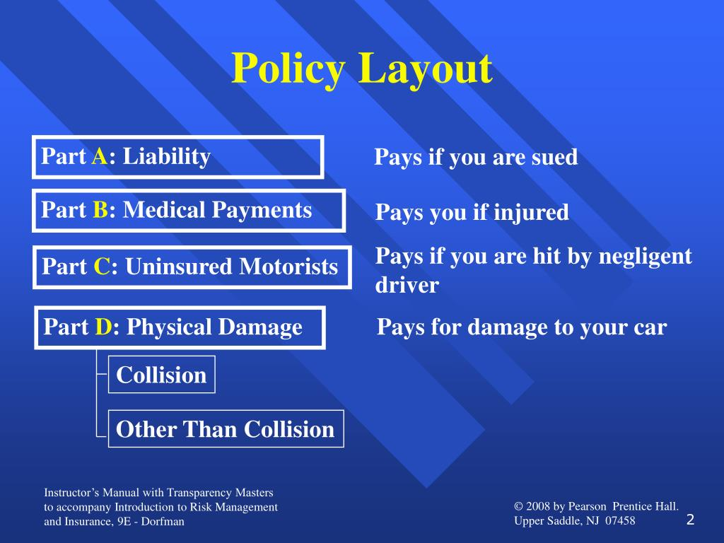 Policy Layout