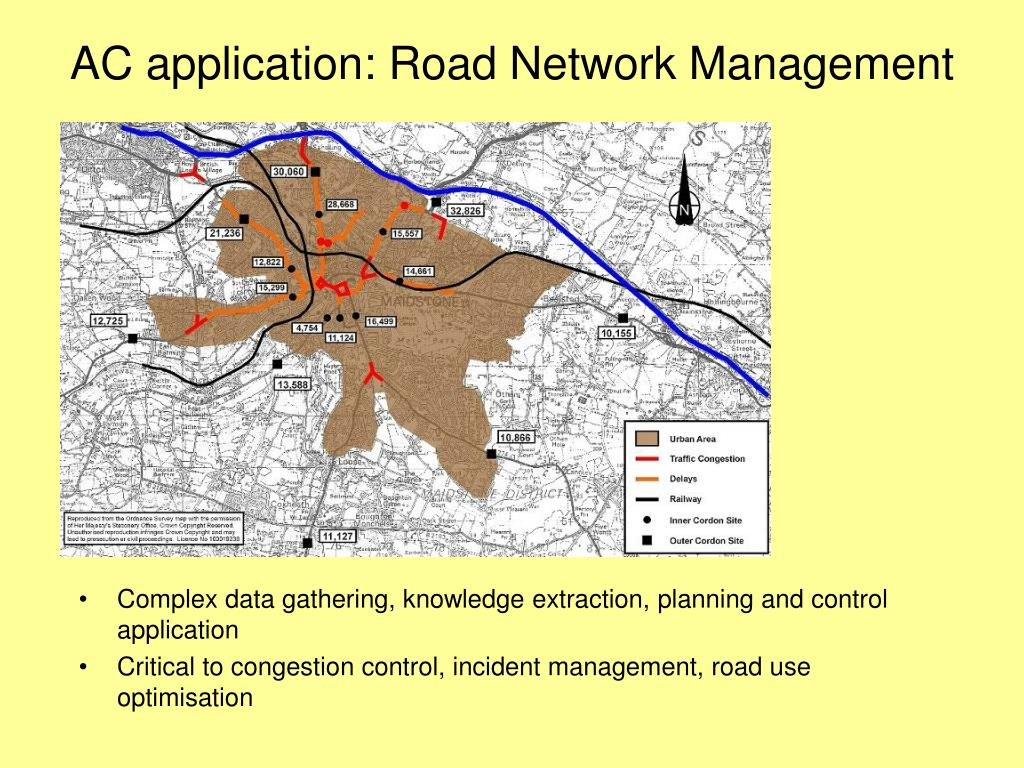 AC application: Road Network Management