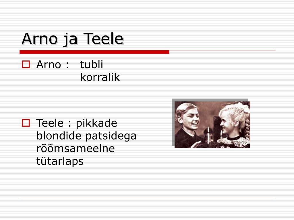 Arno ja Teele