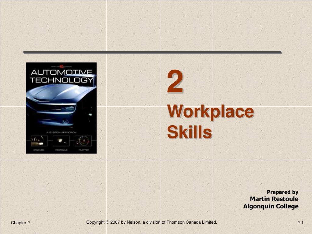 Workplace Skills