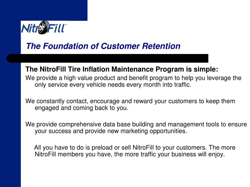 The Foundation of Customer Retention