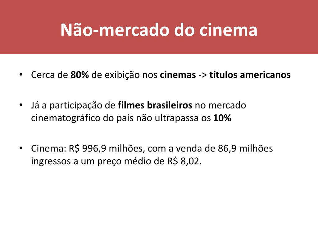 Não-mercado do cinema