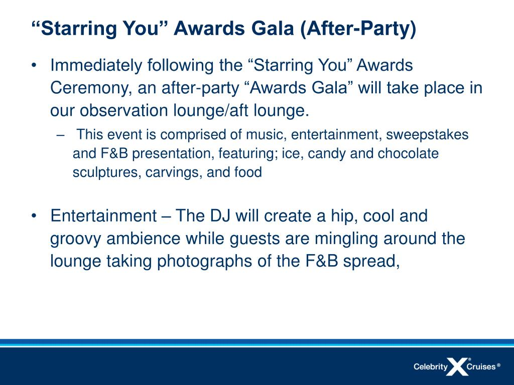 """""""Starring You"""" Awards Gala (After-Party)"""