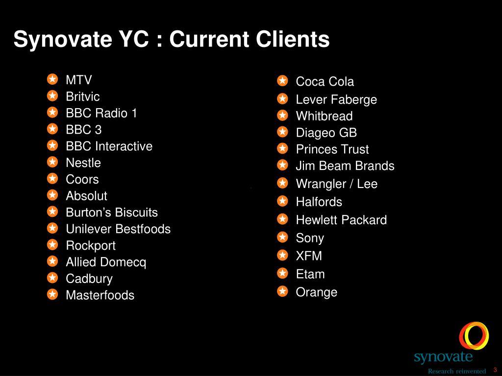 Current Clients