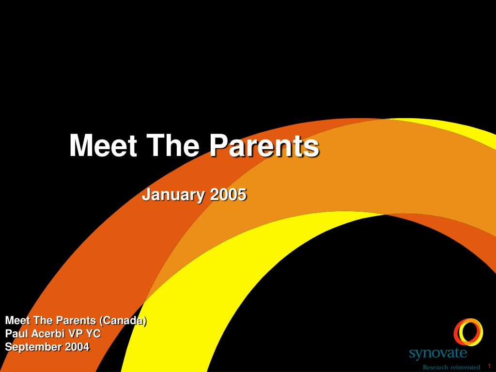 Meet The Parents (Canada)